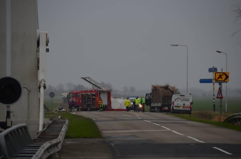 Twee inzittenden komen om het leven bij verkeersongeval in Burdaard