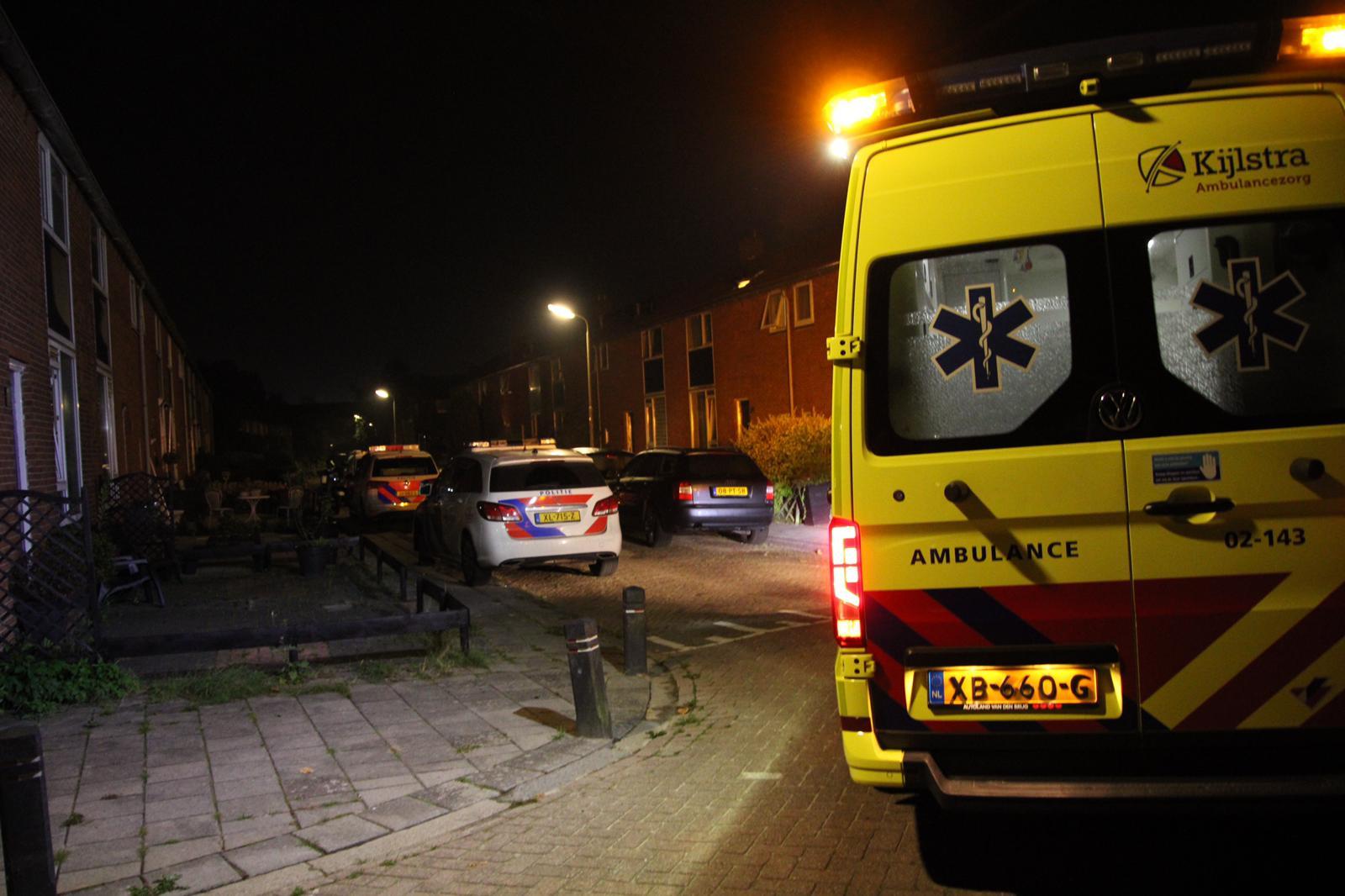 Vrouw gewond na mogelijke steekincident in Leeuwarden