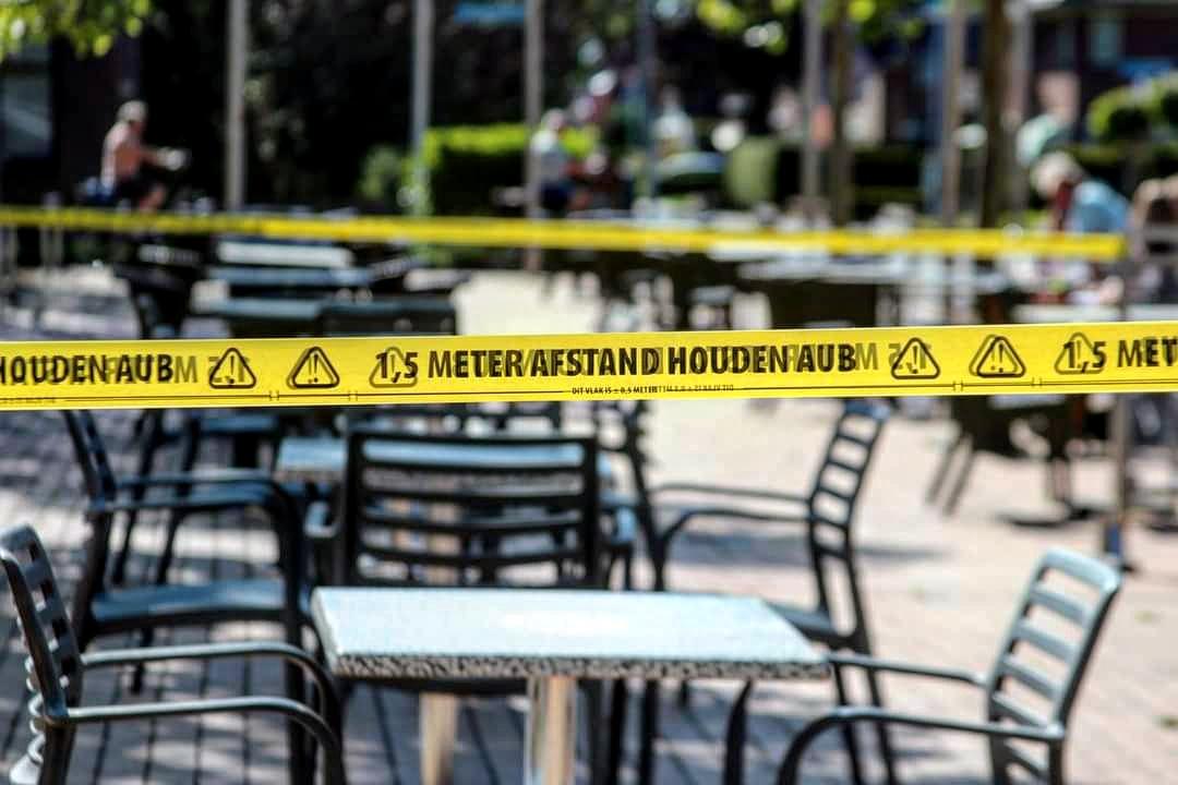 Extreme coronamaatregelen Nederland in Gedeeltelijke lockdown