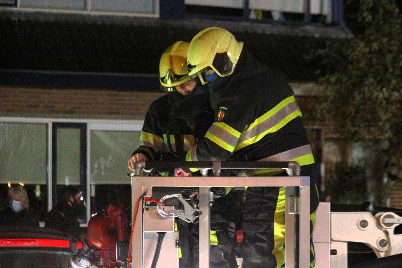 Uitslaande brand in het friese dorp De Triemen