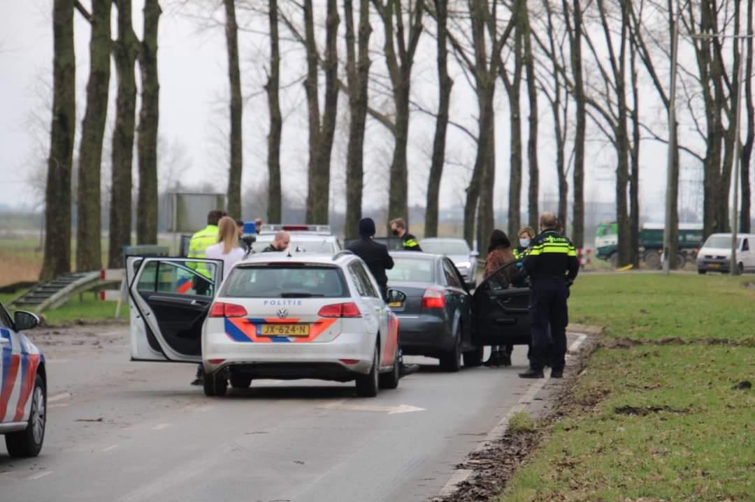 26 jarige Leeuwarder aangehouden na negeren van stopteken bij Goutum